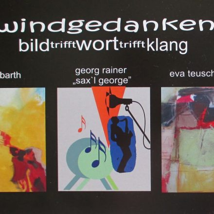 Einladung zur Ausstellung Windgedanken.