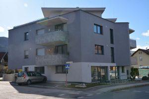 Wohn- und Geschäftshaus der Kurz Invest GmbH in Wörgl - Brixentaler Straße im Februar 2020. Foto:Veronika Spielbichler