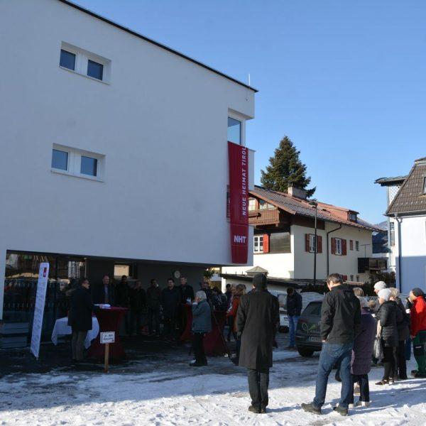 NHT Südtiroler Siedlung - Wohnungsübergabe und Bauprojekt-Vorschau 2020 am 24.1.2020. Foto: Veronika Spielbichler