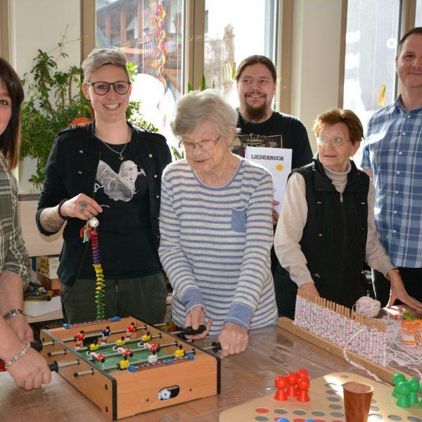 Senioren Tagesbetreuung Wörgl Februar 2020. Foto: Veronika Spielbichler