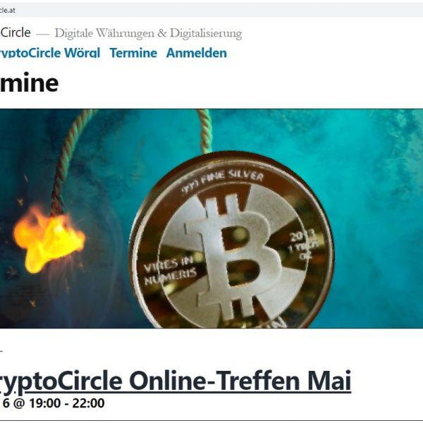 Der CryptoCircle des Unterguggenberger Institutes wird aufgrund der Corona-Ausgehbeschränkungen im Mai und Juni 2020 als Online-Session abgehalten. Foto: Unterguggenberger Institut