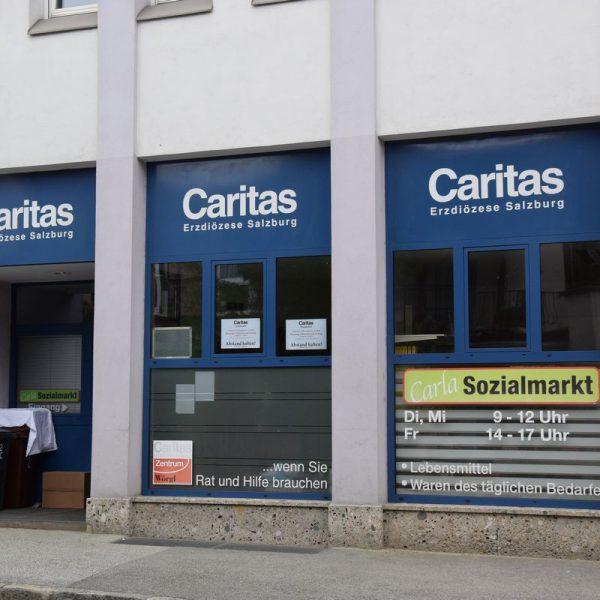 Dar Carla Sozialmarkt der Caritas hat wieder geöffnet. Foto: Stadtgemeinde Wörgl