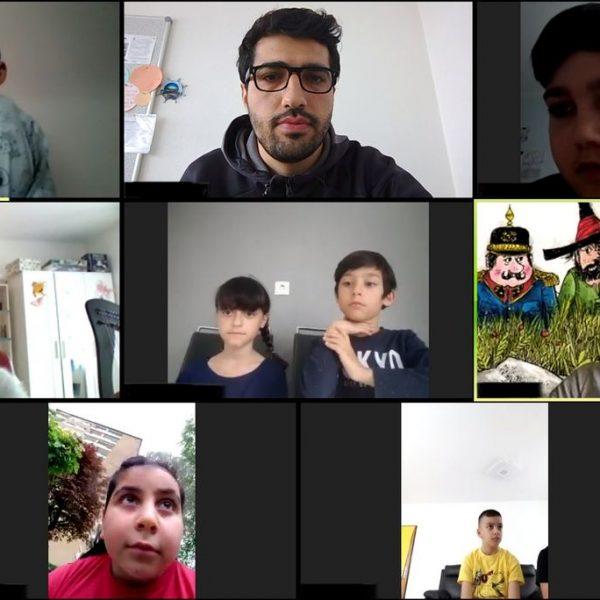 Der Verein Komm!unity bietet online Lernhilfe. Foto: Komm!unity