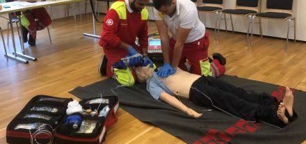 Der Samariterbund Tirol startet im Sommer einen Rettungssanitäter-Ausbildungskurs. Foto: Samariterbund Tirol