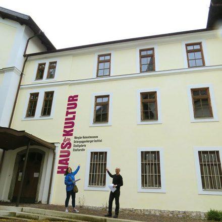 """Die Wörgler Grünen beantragten im Gemeinderat, die """"alte Musikschule"""" im Eigentum der Gemeinde zu belassen und sie Wörgler Kulturvereinen als """"Haus der Kultur"""" zur Verfügung zu stellen. Foto: Wörgler Grüne"""