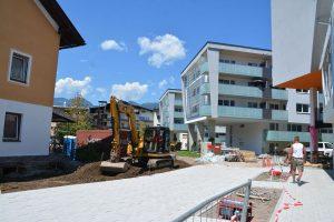 Die neuen Mietwohnungen der Alpenländischen Heimstätte am Fischerfeld wurden bereits bezogen. Foto: Veronika Spielbichler