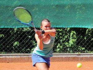 Christina Jukic holte beim 6:1 gegen Innsbruck den entscheidenden Punkt zum Sieg. Foto: TC Wörgl
