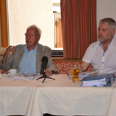 Hochwasserschutz Pressekonferenz 30.7.2020 in Wörgl. Foto: Veronika Spielbichler