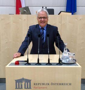 Nationalrat Hermann Gahr. Foto: Silvia Leitner