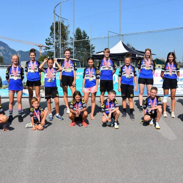 Erfolgreiches Team vom SC Lattella Wörgl. Foto: SC Lattella Wörgl
