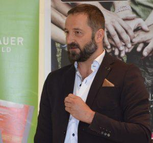 Heinz J. Hafner leitet den CryptoCircle des Unterguggenberger Institutes. Foto: Veronika Spielbichler