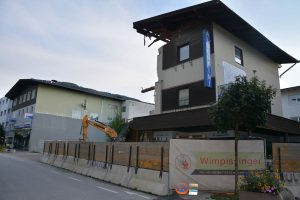 Hausabriss am Stawa-Gelände im September 2020. Foto: Veronika Spielbichler