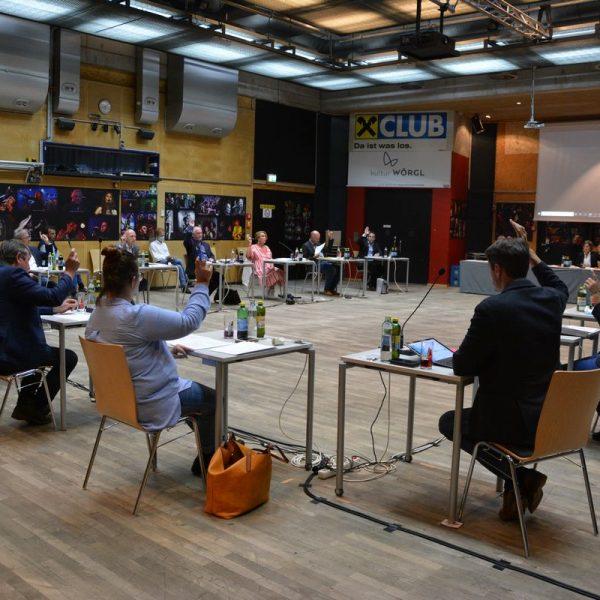 Wörgler Gemeinderat am 24.9.2020. Foto: Veronika Spielbichler