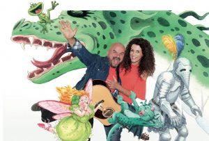Komma für Kids präsentiert ein Familienkonzert mit Bluatschink. Foto: Marie-Christin Wolf - Svetlana Killian