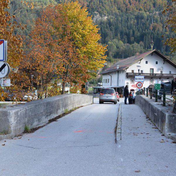Bruckhäusl Oktober 2020 - Sanierung Zehenthofbrücke. Foto: Veronika Spielbichler
