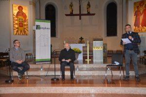 Gesprächsabend mit Alterzbischof Dr. Alois Kothgasser in der Pfarrkirche Wörgl am 23.10.2020. Foto: Veronika Spielbichler