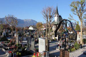 Wörgler Friedhof. Foto: Veronika Spielbichler