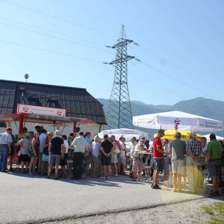 Demo Hochwasserschutz-Initiative August 2015. Foto: Veronika Spielbichler