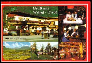 """Eine alte Ansichtskarte der """"Tiroler Stuben"""" aus den 1970er Jahren. (Foto: Archiv Sepp Margreiter)"""