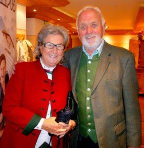 """58 Jahre lang waren Sepp und Käthe Margreiter glücklich verheiratet und schufen gemeinsam die """"Tiroler Stuben"""" in Wörgl. Foto: Florian Haun"""