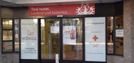 Testlokal in Wörgl ab 11. Jänner 2021. Foto: Stadtgemeinde Wörgl