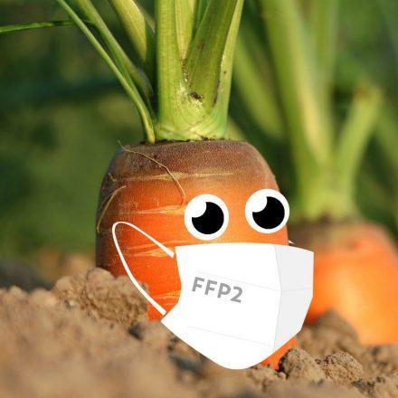 Corona-Sicherheitsmaßnahmen wie ffp2-Maskentragen gelten auch beim Wörgler Bauernmarkt, der am 6. März 2021 wieder startet. Foto: Stadtmarketing GmbH/Ringler