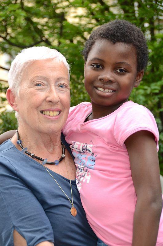 Elisabeth Cerwenka und Mary. Foto: privat