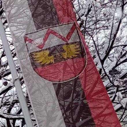 Wörgl Fahne. Foto: Veronika Spielbichler