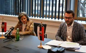Pressekonferenz zum WAVE im Wörgler Stadtamt am 19.2.2021. Foto: Veronika Spielbichler