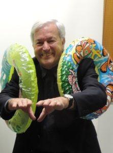 SC Wörgl-Ehrenpräsident Dr. Georg Petzer feiert seinen 80er. Foto: SC Wörgl, Schallhart