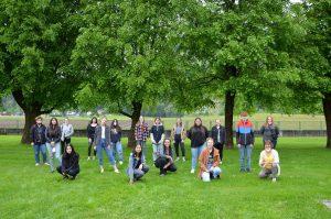Schulprojekt Culture Connected - Kunst und Nachhaltigkeit - BFW_AL 2021. Foto: BFW-AL Wörgl