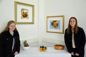 Schulprojekt Culture Connected - Kunst und Nachhaltigkeit - BFW-AL 2021. Foto: BFW-AL Wörgl
