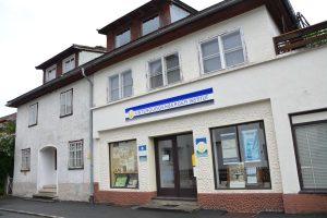 Das Unterguggenberger Institut in der Unterguggenberger Straße 3 bietet während der Schließungszeit des Heimatmuseums einen Schauraum zum historischen Geldexperiment. Foto: Veronika Spielbichler