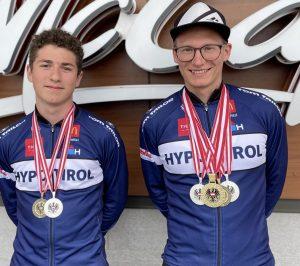 Alexander Farthofer (li) und Manuel Vogl (re). Foto: SC Lattella Wörgl