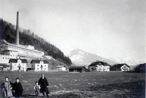 Die Zementindustrie spielte in der Wirtschaftsgeschichte im Tiroler Unterland eine wichtige Rolle – das Foto stellte Rudi Pardon zur Verfügung. Foto: LA21 Bruckhäusl aktiv