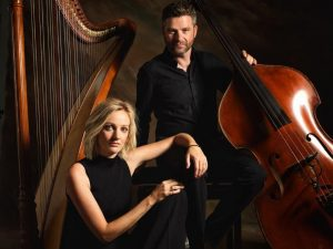 Beim Volksmusik-Abend auf der Bühne: Katrin und Werner Unterlercher. Foto: AVT/Dabernig