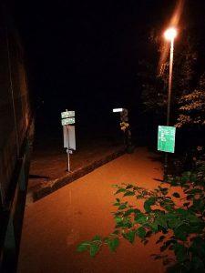 In der Nacht von 17. auf 18. Juli 2021 flutete das Hochwasser der Brixentaler Ache die Bahnunterführung bei der Rendl-Brücke. Foto: Marco Mattlschwaiger