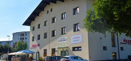 Das Volkshaus Wörgl besteht seit 50 Jahren - am 2. Oktober 2021 wird gefeiert. Foto: Verein Arbeiterheim Wörgl