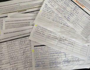 Über 150 Personen unterzeichneten eine Petition gegen die von der Stadtführung geplante Fußgängerzone in der unteren Bahnhofstraße. Foto: Engl