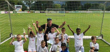 Nachwuchstrainer Ewald Linzbauer startet mit einer neuen Trainingsgruppe für Fußball-Kids der Geburtsjahrgänge 2015/2016. Foto: SV Wörgl