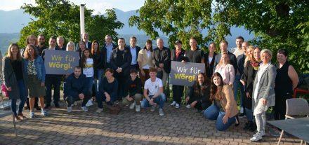 """Listenpräsentation """"Wir für Wörgl"""" am 22.9.2021. Foto: Veronika Spielbichler"""