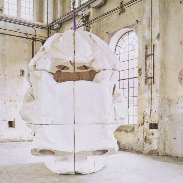 Peter Sandbichler zeigt ab 30.10.2021 im Kunstforum Troadkastn in Kramsach erstmals eine Einzelausstellung. Foto: Günter Richard Wett