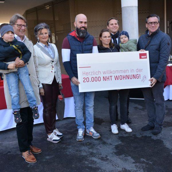 Wohnungsübergabe NHT Wörgl Südtiroler Siedlung am 22. Oktober 2021. Foto: Veronika Spielbichler