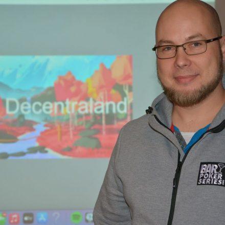 CryptoCircle des Unterguggenberger Institutes in der Zone Wörgl am 13.10.2021 zu Decentraland. Foto: Veronika Spielbichler