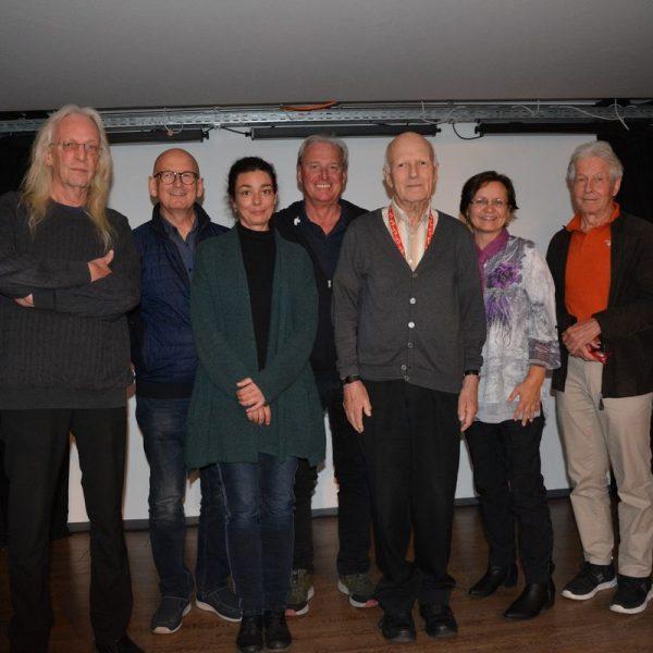 Heimatmuseumsverein Wörgl - Vorstand Oktober 2021. Foto: Oberhauser