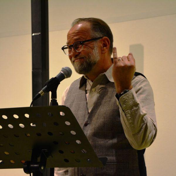 Lesung von Ulli Brée im Tagungshaus Wörgl am 21.10.2021. Foto: Veronika Spielbichler